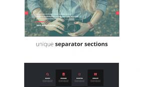 TRIO – Simple One Page Joomla Template (Joomla)