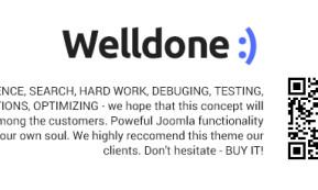 Welldone – Joomla VirtueMart ecommerce theme (Joomla)