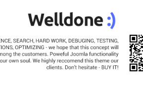 Welldone – Joomla VirtueMart ecommerce theme (Joomla)