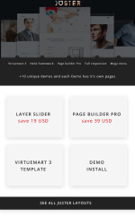 Juster – Multi-Purpose Joomla Template (Joomla)