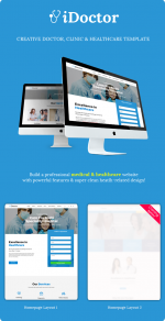 iDoctor – Responsive & Multipurpose Medical Joomla Template (Joomla)