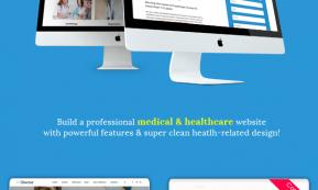 iDoctor – Responsive & Multipurpose Medical Joomla Template (Joomla)